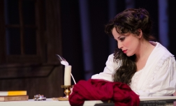 Tatyana in Eugene Onegin, Tacoma Opera Photo credit: Peter Serko